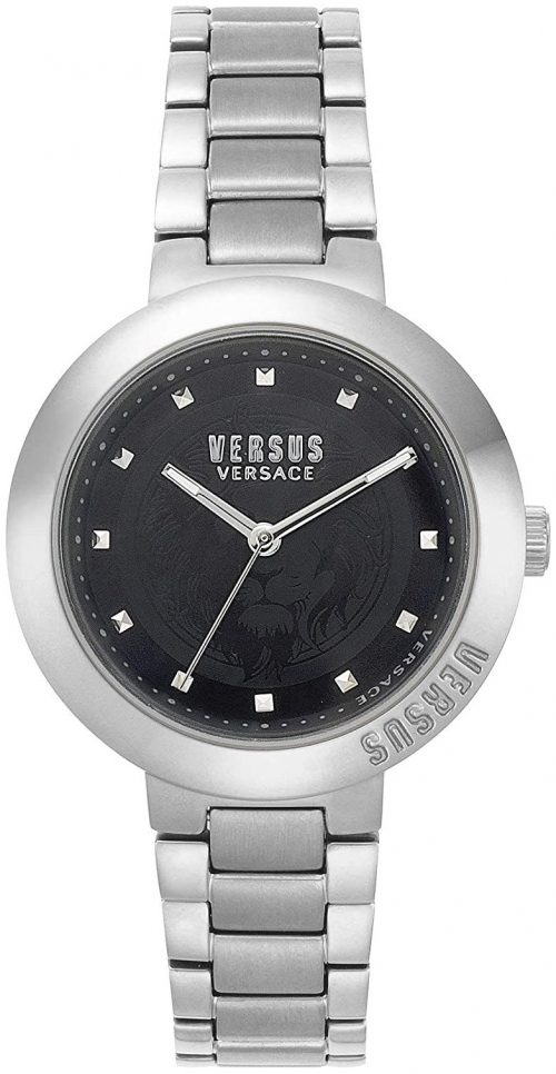 Versus by Versace 99999 Damklocka VSPLJ0519 Svart/Stål Ø36 mm