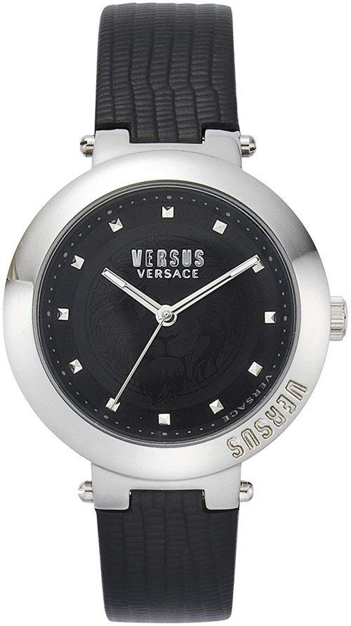 Versus by Versace Batignolles Damklocka VSPLJ0119 Svart/Läder Ø36 mm