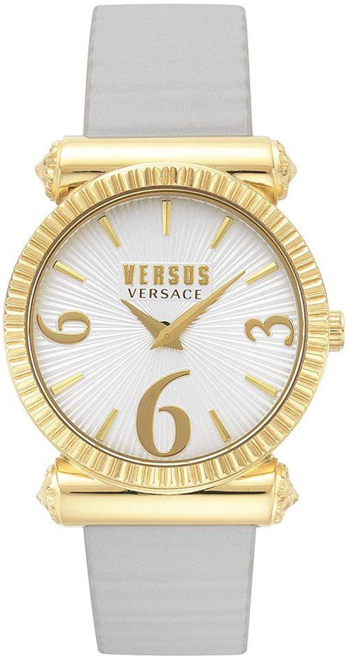 Versus by Versace Republique Damklocka VSP1V0319 Vit/Läder Ø38 mm