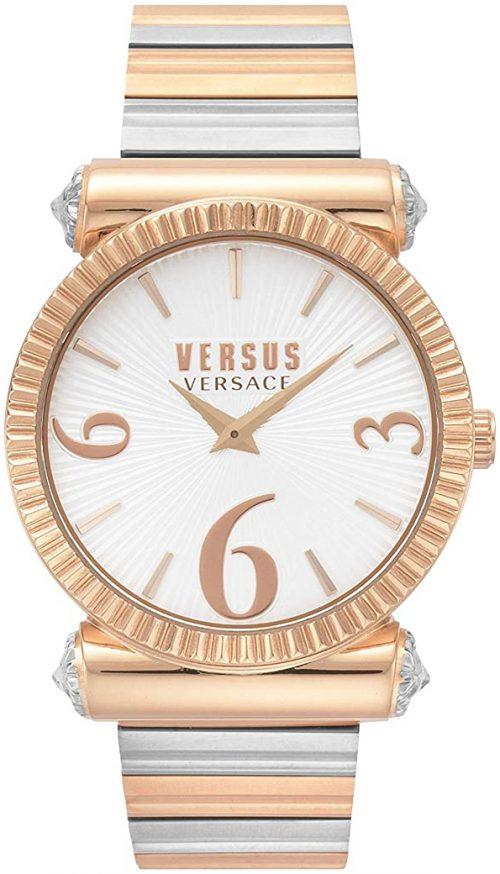 Versus by Versace Republique Damklocka VSP1V1119 Vit/Roséguldstonat