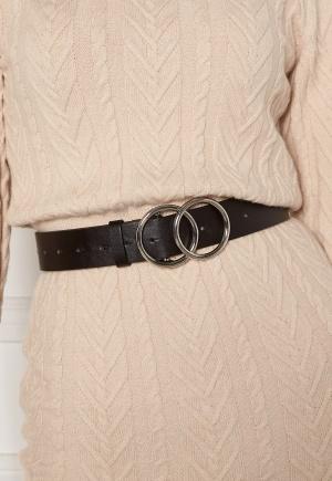 BUBBLEROOM Bree belt Black / Silver M/L