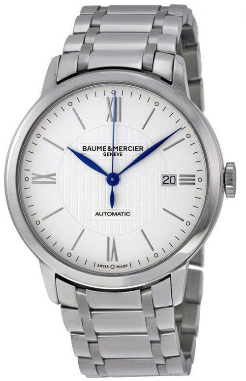 Baume & Mercier Classima Herrklocka M0A10215 Silverfärgad/Stål