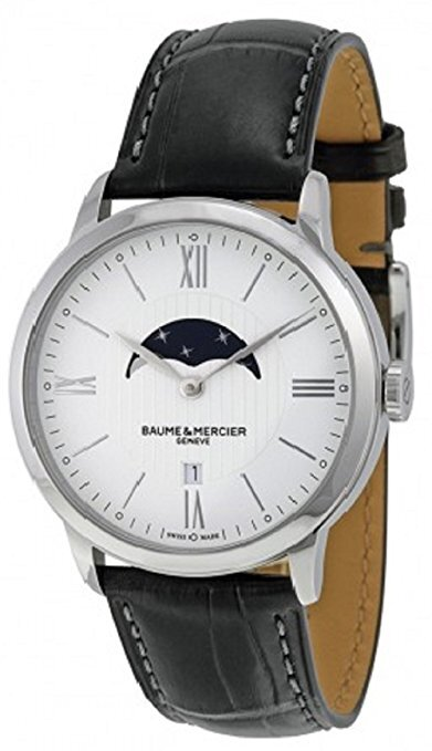 Baume & Mercier Classima Herrklocka M0A10219 Silverfärgad/Läder