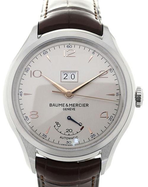 Baume & Mercier Clifton Herrklocka M0A10205 Silverfärgad/Läder