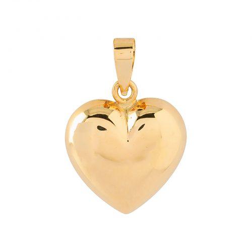 Berlock 18k guld - Hjärta 14 mm