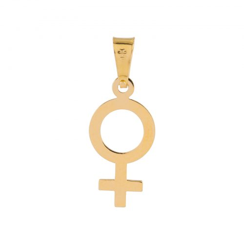 Berlock 18k guld - Kvinnotecken