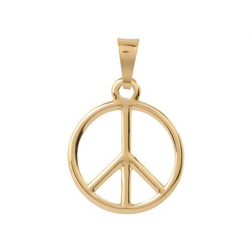 Berlock 18k guld - Peace tecken