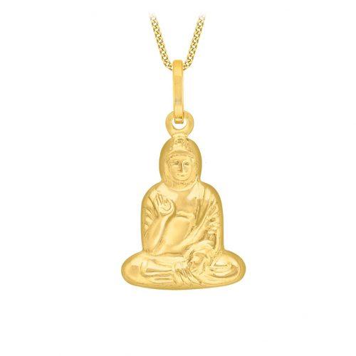 Berlock 9K Guld -Buddha
