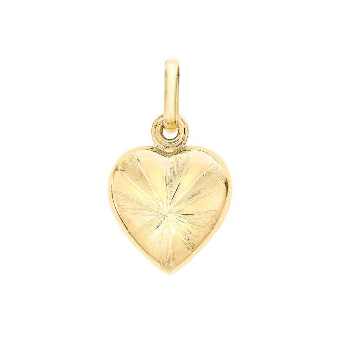 Berlock 9K Guld - Hjärta