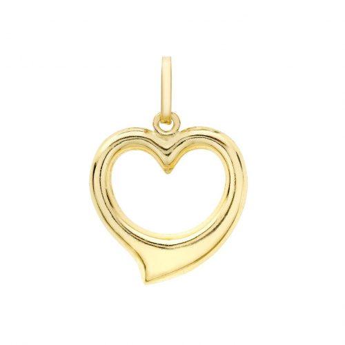Berlock 9K Guld -Hjärta