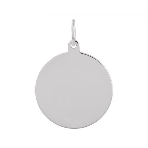 Berlock Silver - blankt hänge