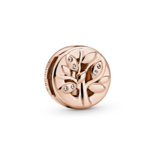 Berlock i äkta silver rose