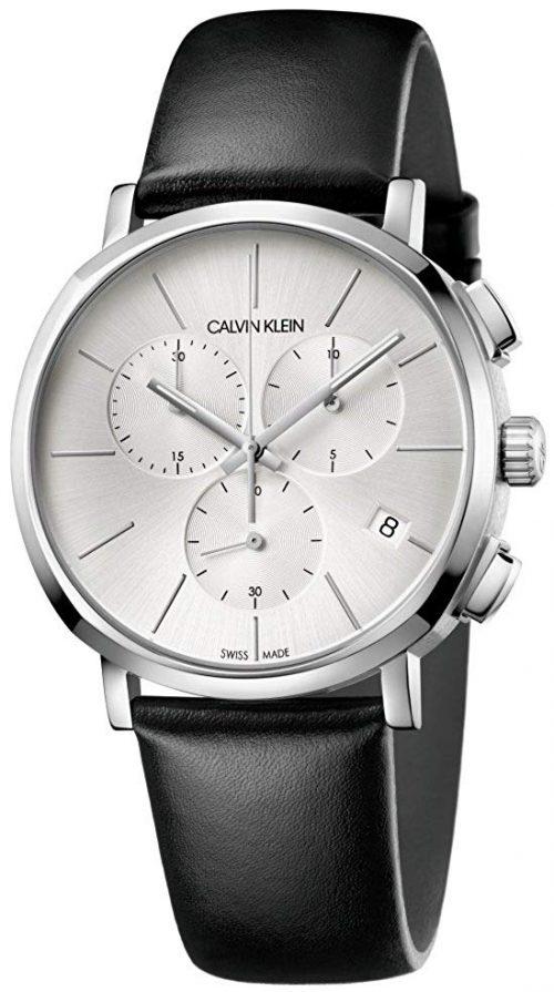 Calvin Klein 99999 Herrklocka K8Q371C6 Silverfärgad/Läder Ø42 mm