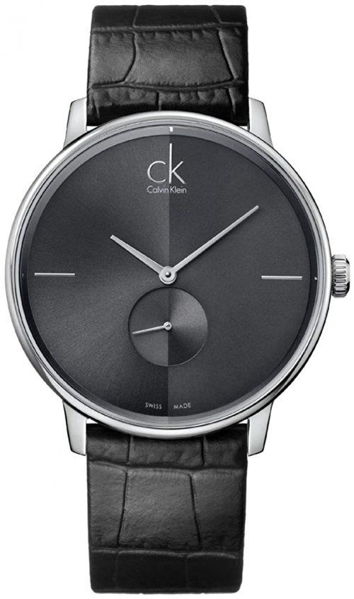 Calvin Klein Accent Damklocka K2Y231C3 Svart/Läder Ø32 mm