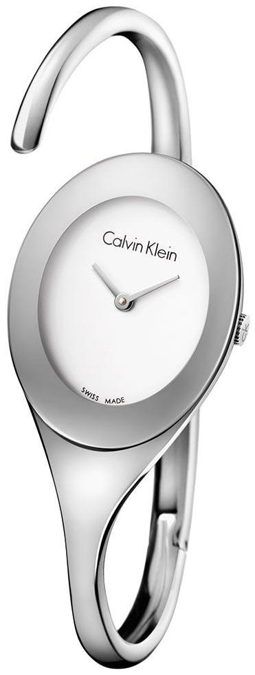 Calvin Klein Embrace Damklocka K4Y2L116 Silverfärgad/Stål Ø31 mm