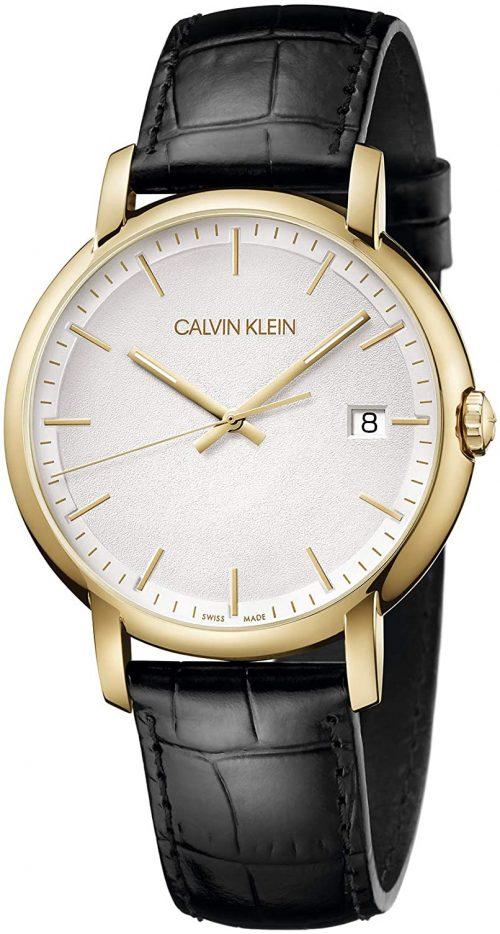 Calvin Klein Established Herrklocka K9H215C6 Silverfärgad/Läder
