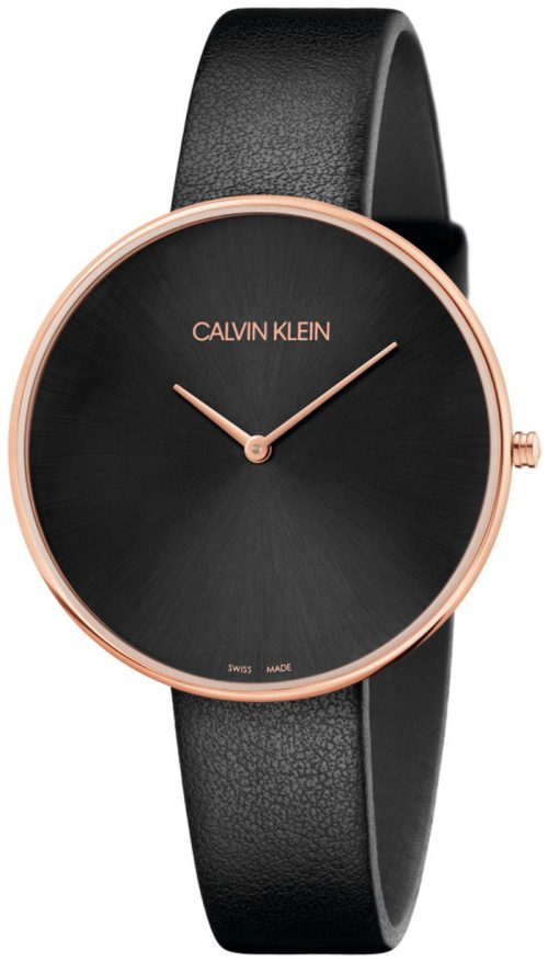 Calvin Klein Full Moon Herrklocka K8Y236C1 Svart/Läder Ø42 mm