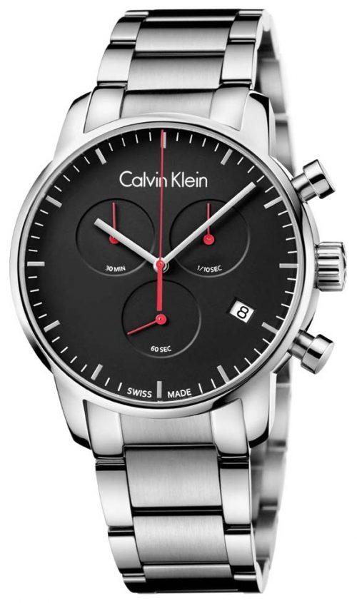 Calvin Klein Herrklocka K2G27141 Svart/Stål Ø43 mm