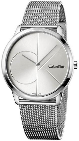 Calvin Klein High Noon Herrklocka K8M21126 Silverfärgad/Stål Ø40 mm