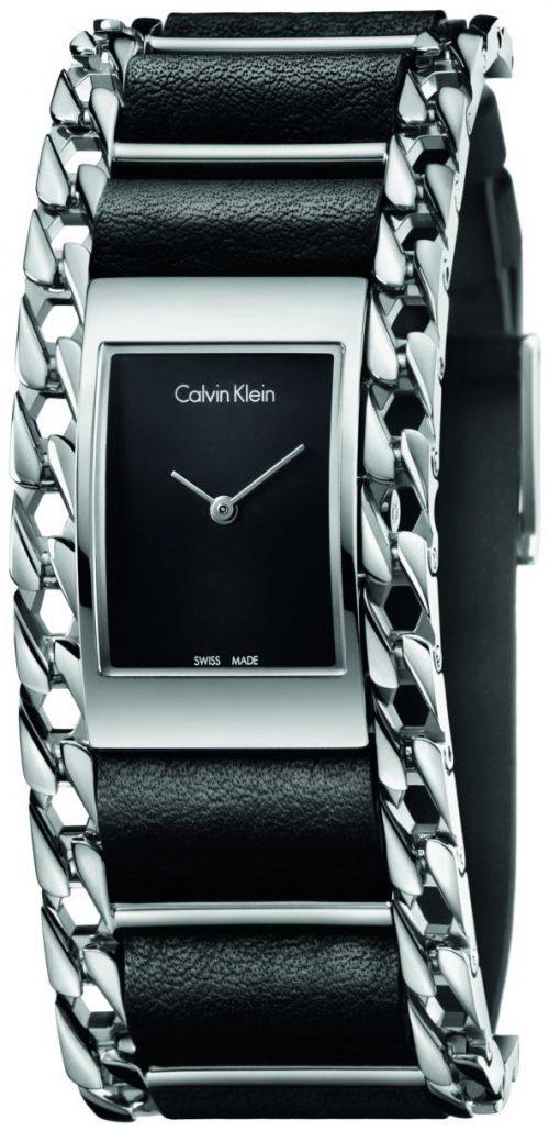 Calvin Klein Impeccable Damklocka K4R231C1 Svart/Stål