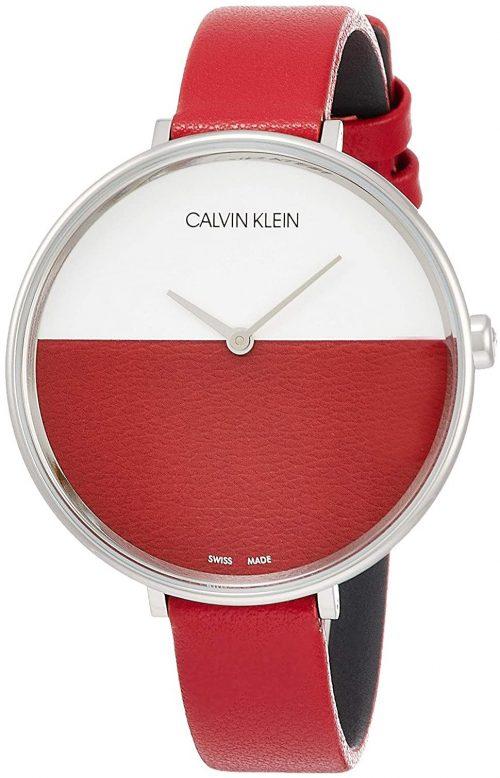 Calvin Klein Rise Damklocka K7A231UP Flerfärgad/Läder Ø38 mm