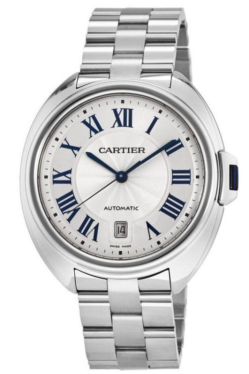 Cartier Calibre de Cartier Herrklocka WSCL0007 Silverfärgad/Stål