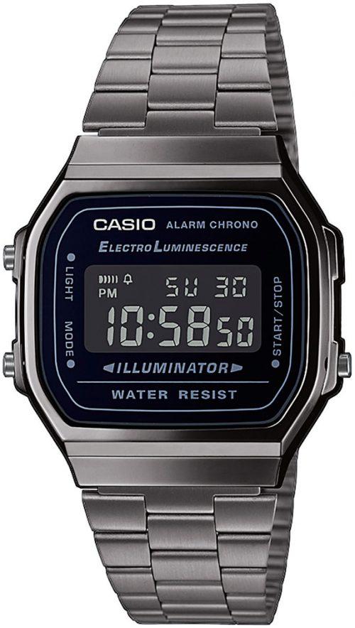 Casio 99999 A168WEGG-1BEF LCD/Stål