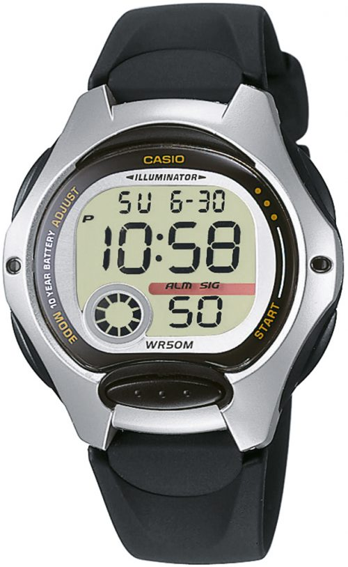 Casio Sport Damklocka LW-200-1AVEG LCD/Resinplast Ø35 mm