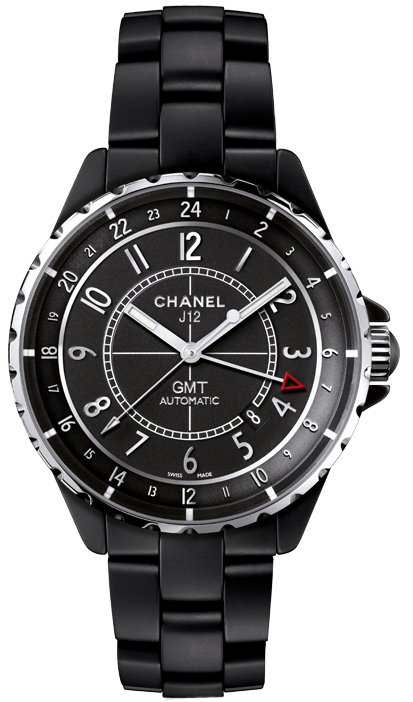 Chanel J12 Damklocka H3102 Svart/Keramik Ø38 mm