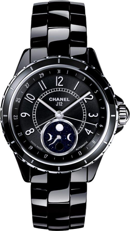 Chanel J12 Damklocka H3406 Svart/Keramik Ø38 mm