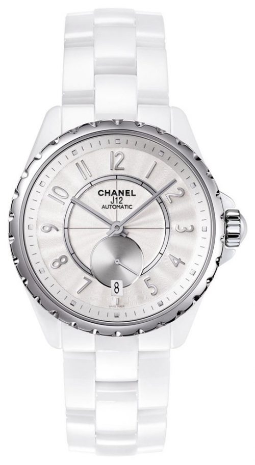 Chanel J12 Damklocka H3837 Vit/Keramik Ø36.5 mm