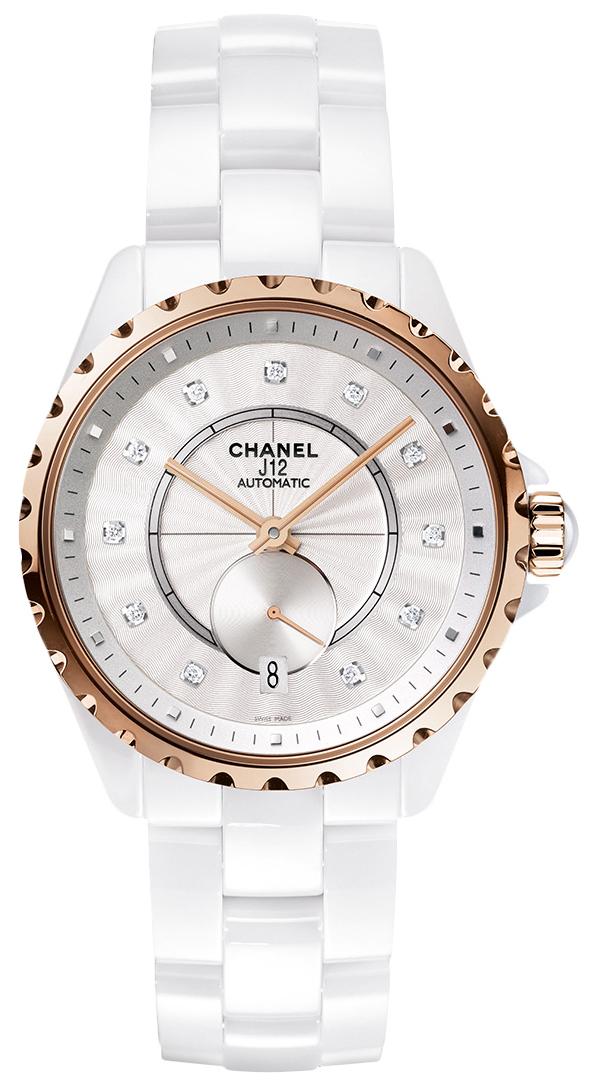 Chanel J12 Damklocka H4359 Vit/Keramik Ø36.5 mm