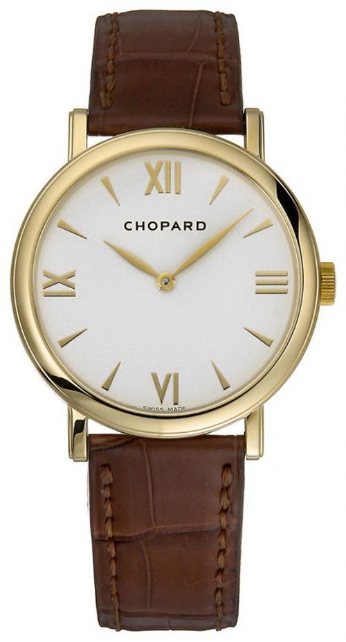 Chopard Classic Damklocka 163154-0201 Vit/Läder Ø33 mm