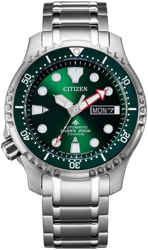 Citizen Promaster Herrklocka NY0100-50XE Grön/Titan Ø42 mm