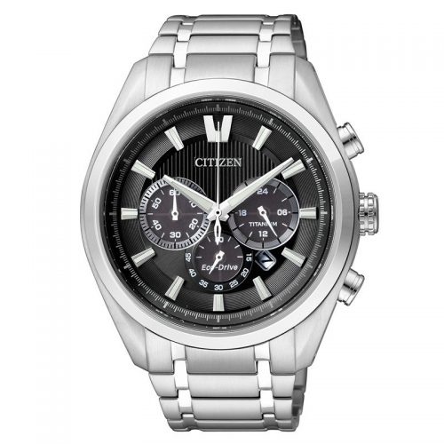 Citizen Super Titanium herrkronograf Eco-Drive CA4010-58E