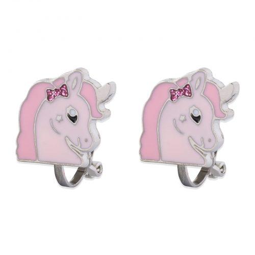 Clipsörhängen rosa häst Montini