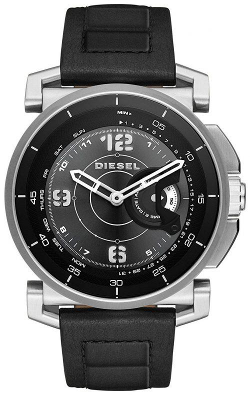 Diesel 99999 Herrklocka DZT1000 Svart/Läder Ø47 mm