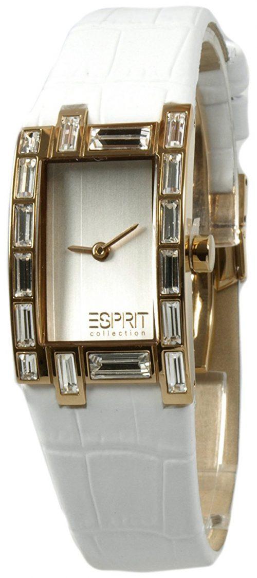 Esprit Collection Damklocka EL900262008 Silverfärgad/Läder