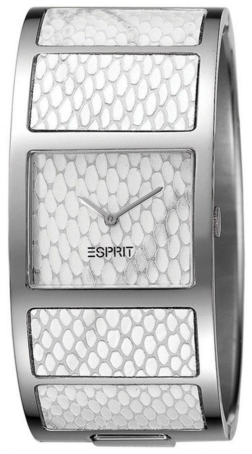 Esprit Dress Damklocka ES103102001 Vit/Stål