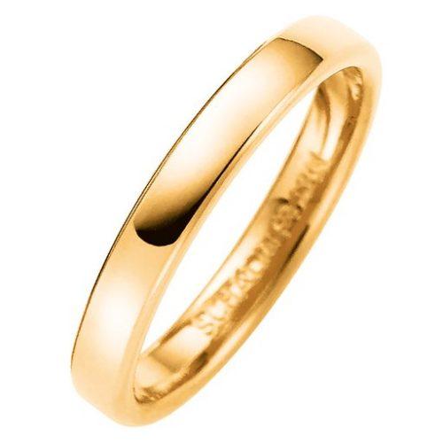 Förlovningsring i 18K guld 3mm, 57
