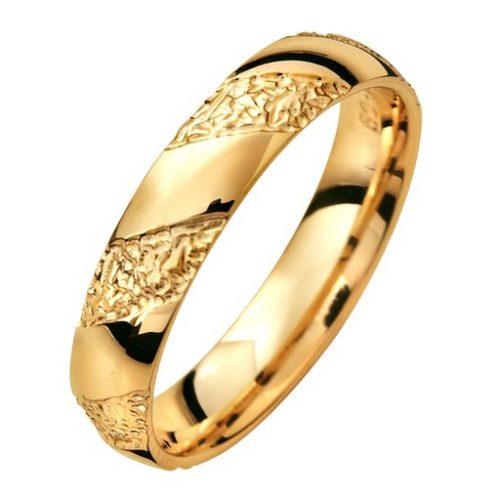 Förlovningsring i 18K guld, 44