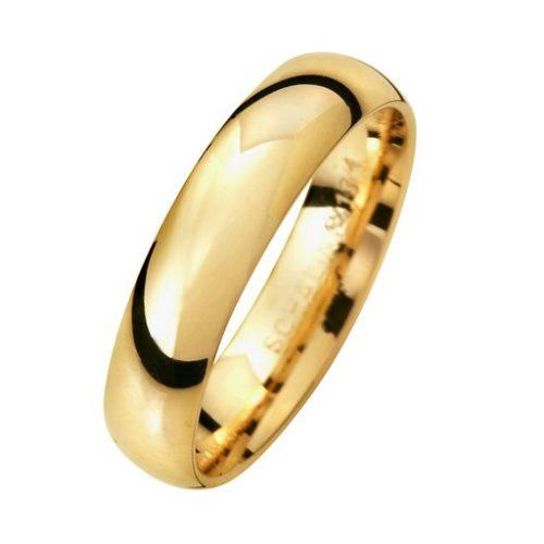 Förlovningsring i 18K guld 4,5mm, 69