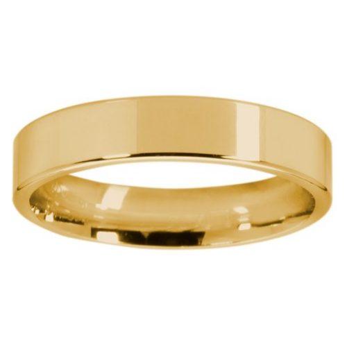 Förlovningsring i 18K guld 4mm, 44