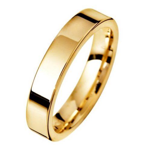 Förlovningsring i 18K guld 4mm, 53