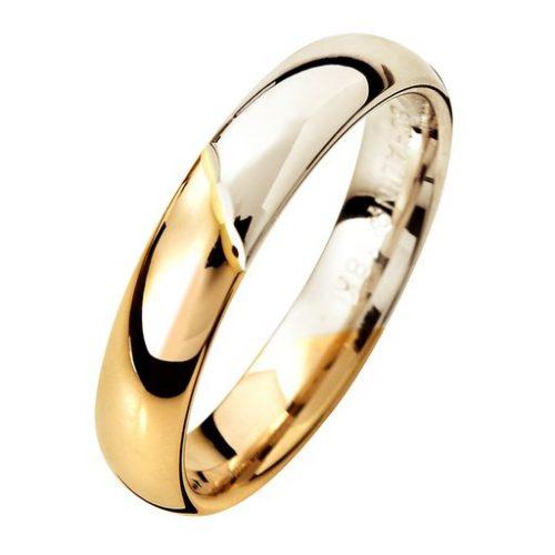 Förlovningsring i 18K guld 4mm, 61