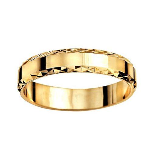 Förlovningsring i 18K guld 4mm, 64