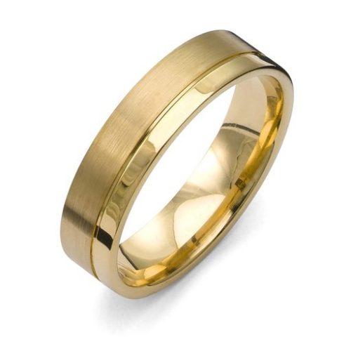 Förlovningsring i 18K guld, 52