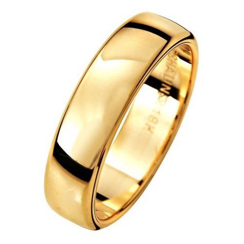 Förlovningsring i 18K guld, 56