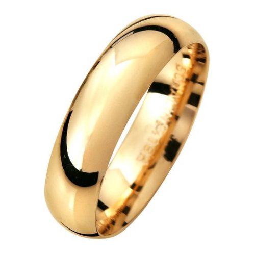 Förlovningsring i 18K guld 5mm, 45