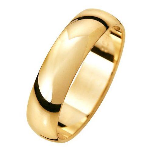 Förlovningsring i 18K guld 5mm, 51